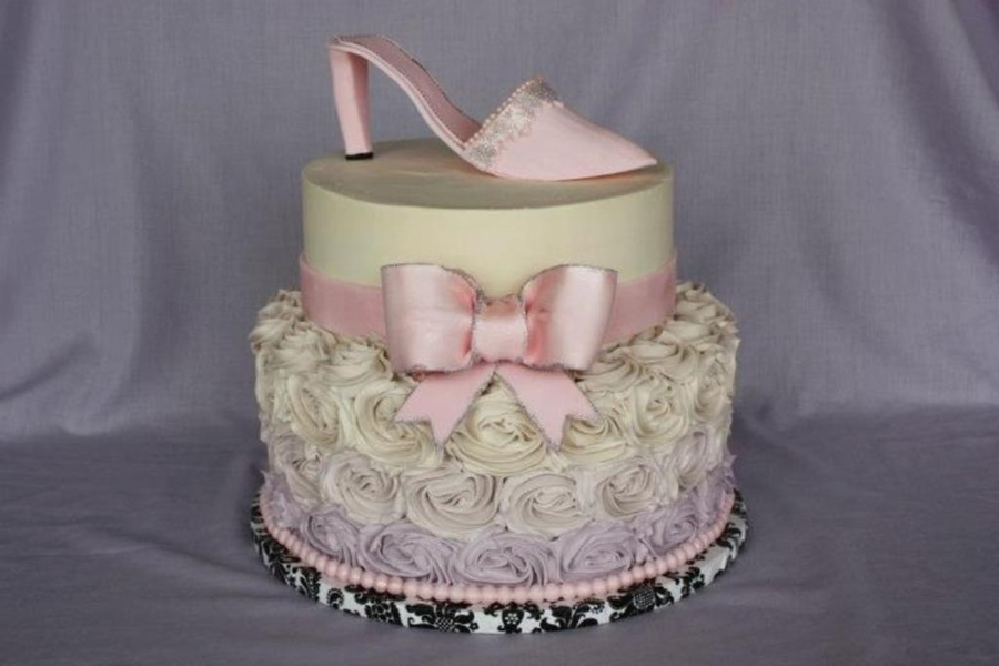 High Heel Cake  on Cake Central