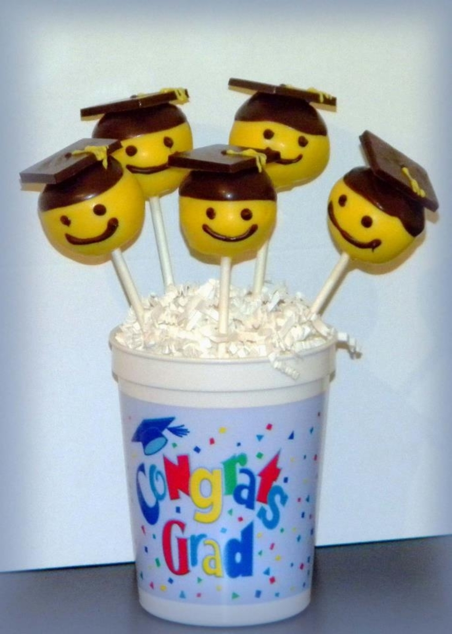 Graduation Cake Pops on Cake Central
