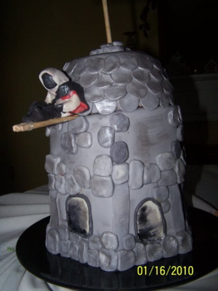 Assassin's Creed Cake on Cake Central