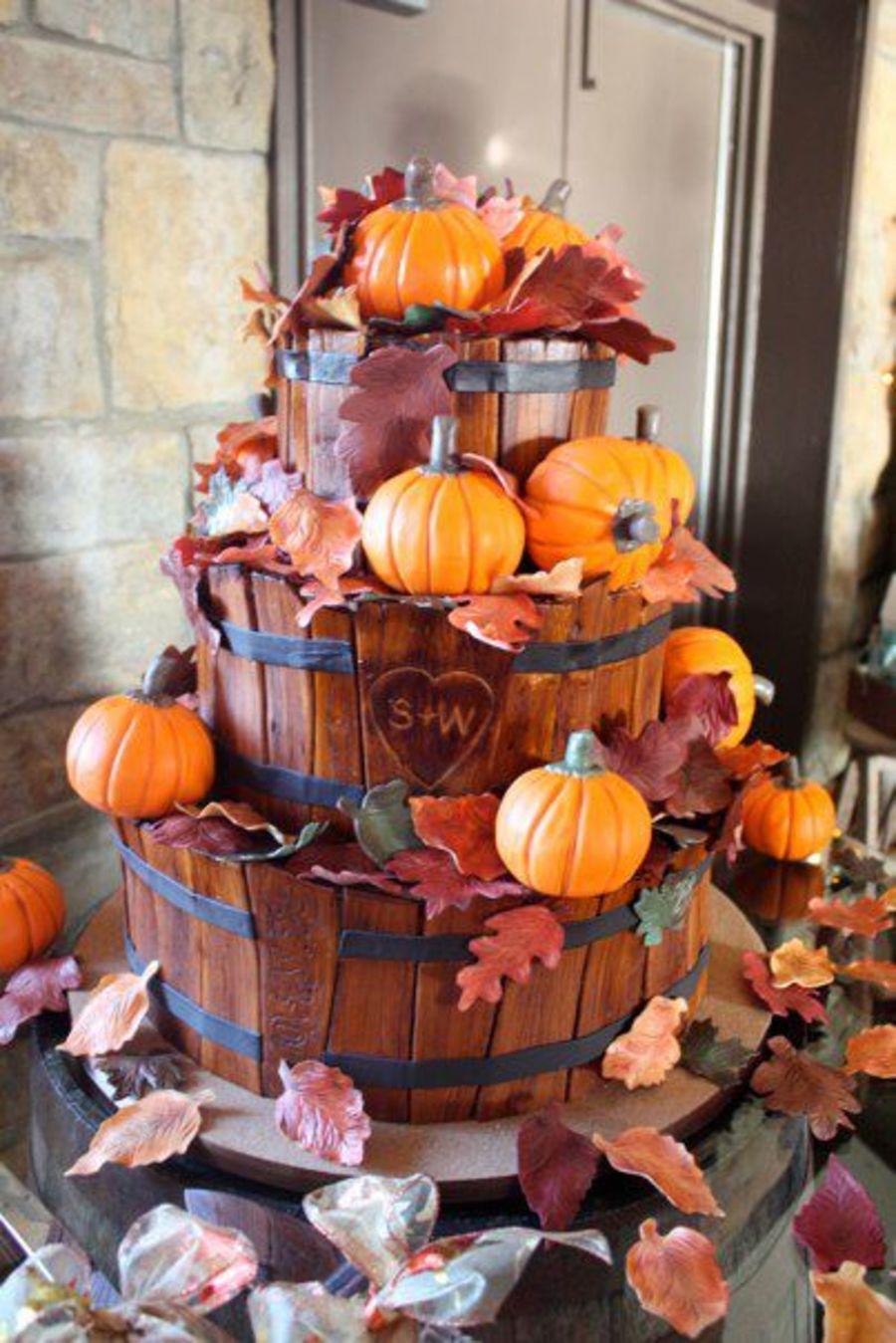 Pumpkin Wedding Cake Recipe