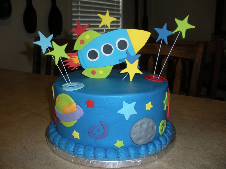 Rocket Ship On Cake Central