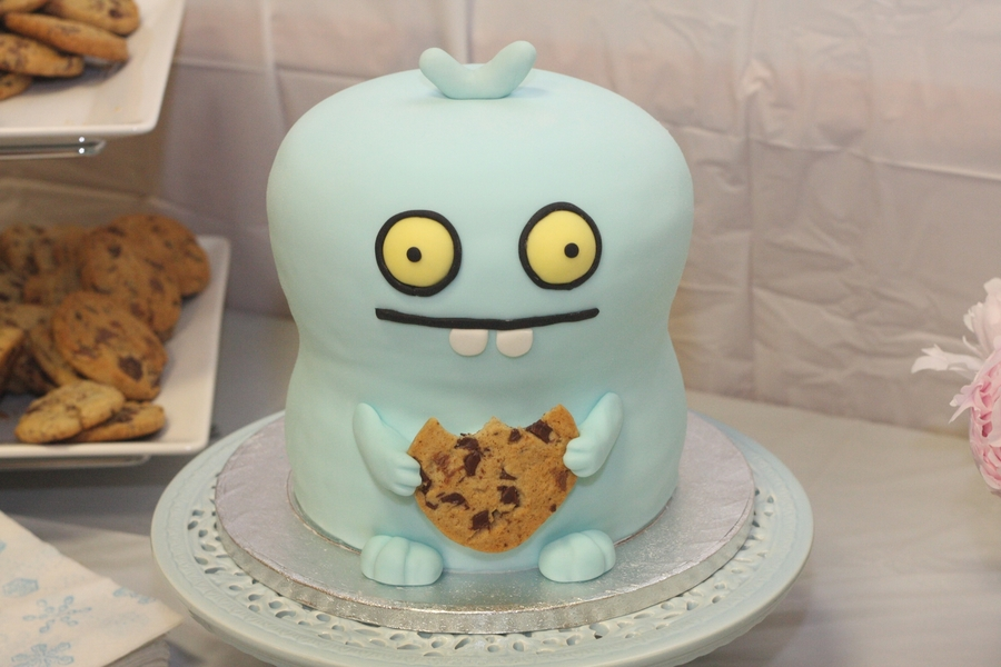 Awesome Ugly Dolls Babo Cakecentral Com Funny Birthday Cards Online Alyptdamsfinfo