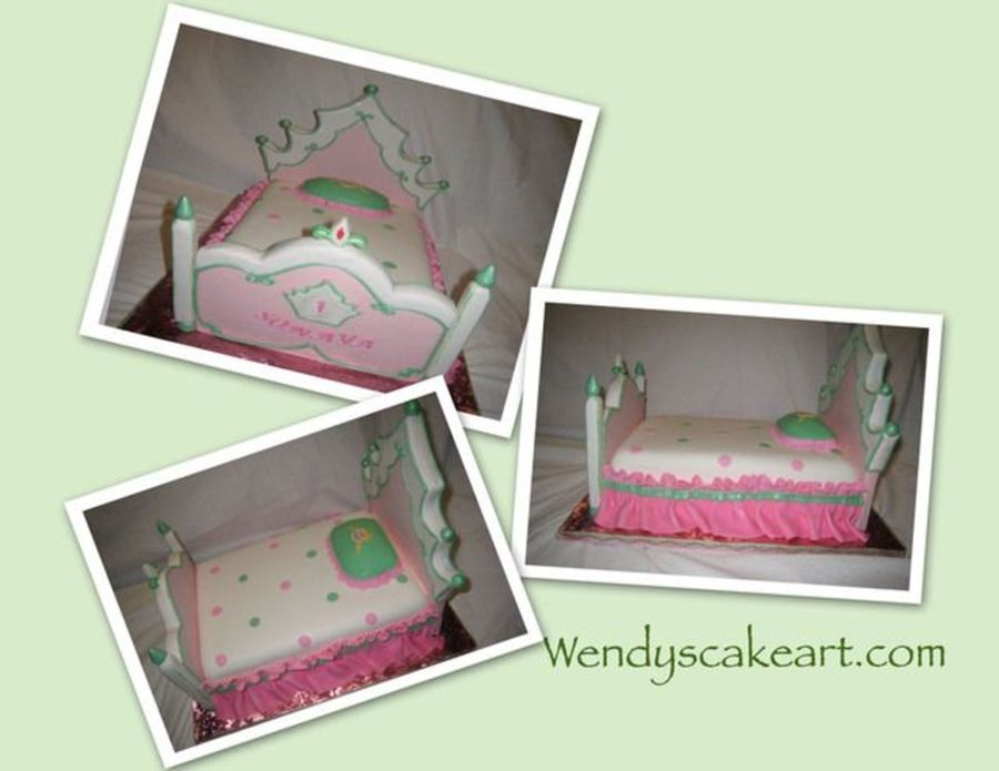 Princess Bed on Cake Central