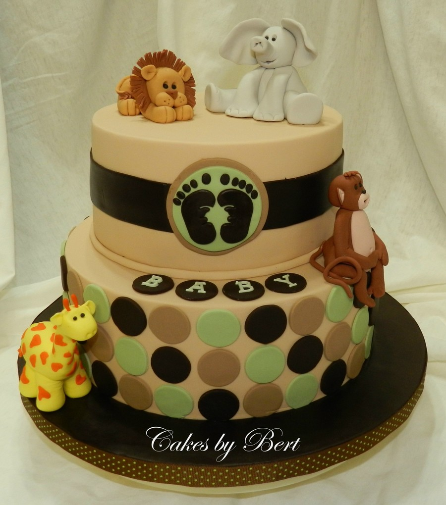 Animal themed baby shower ideas