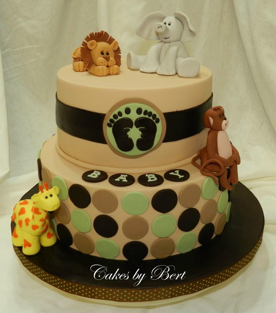 Baby Animal Themed Baby Shower