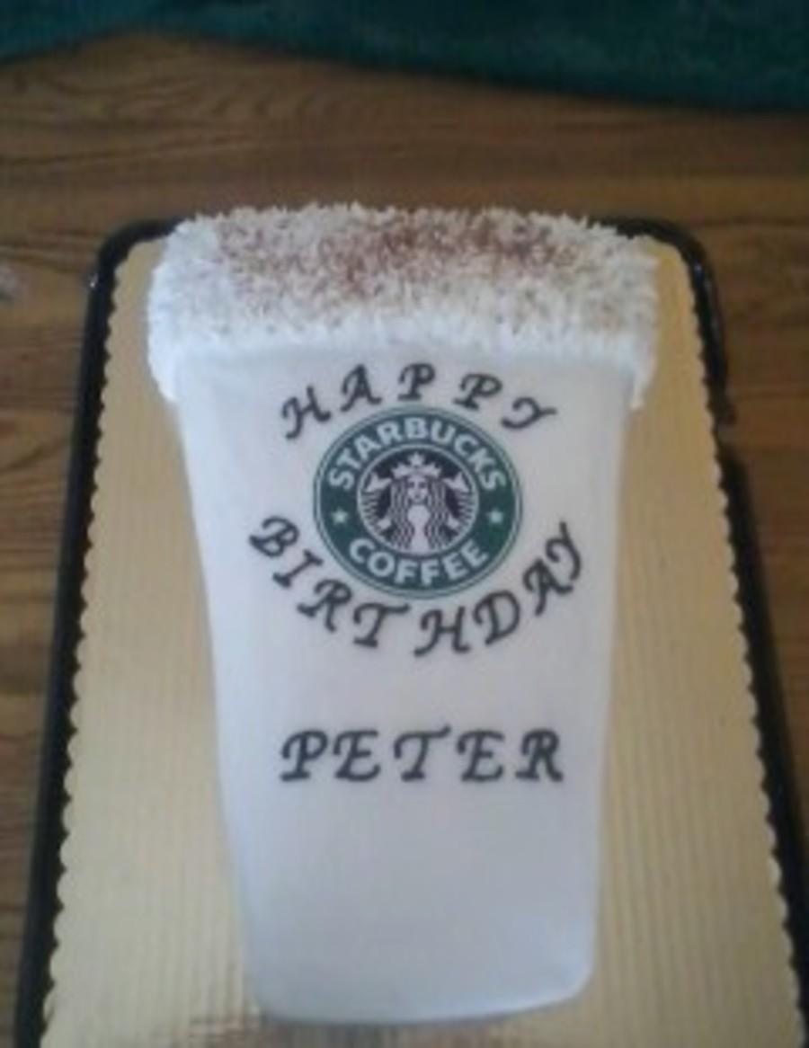 Title Starbucks Birthday Cake French Vanilla Cake With Buttercream