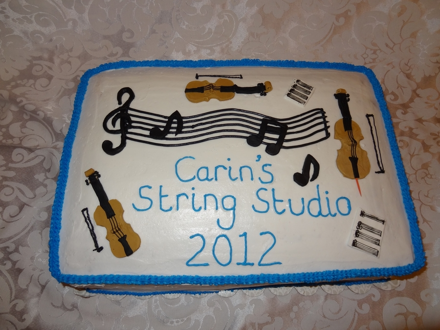 String Recital on Cake Central