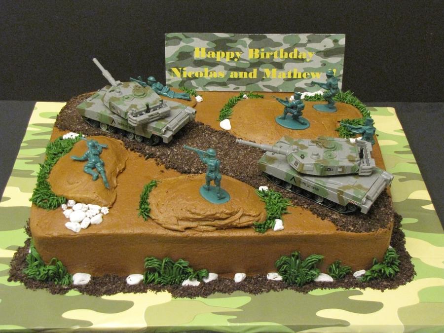 Army Themed Birthday Cake Ideas