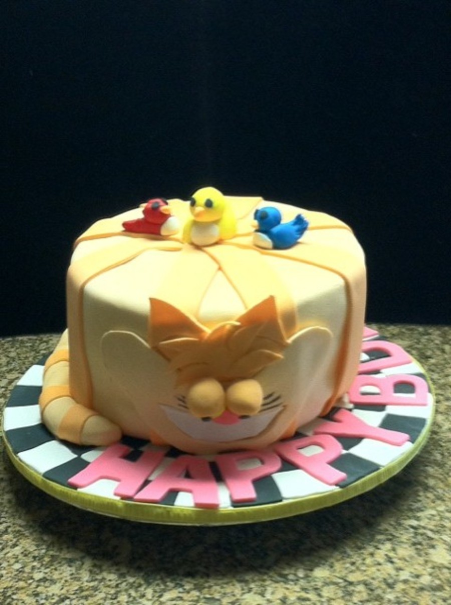 A Cat Lovers Birthday Cake Cakecentral