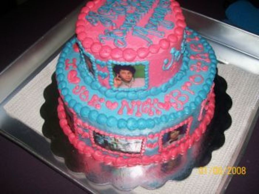 Jonas Brothers on Cake Central