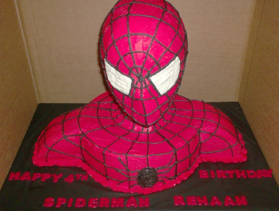 Spiderman 2 on Cake Central