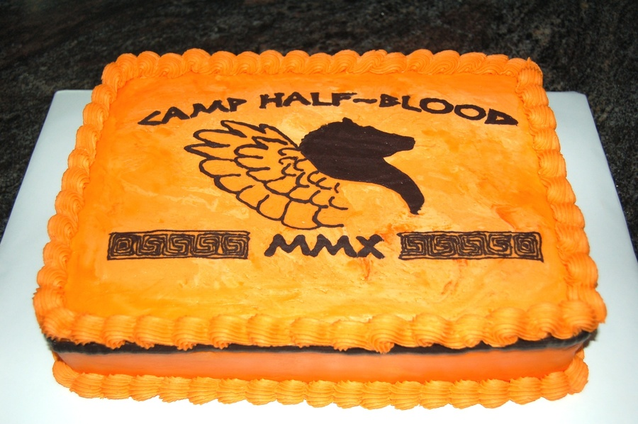 Camp Half Blood Cake on Cake Central