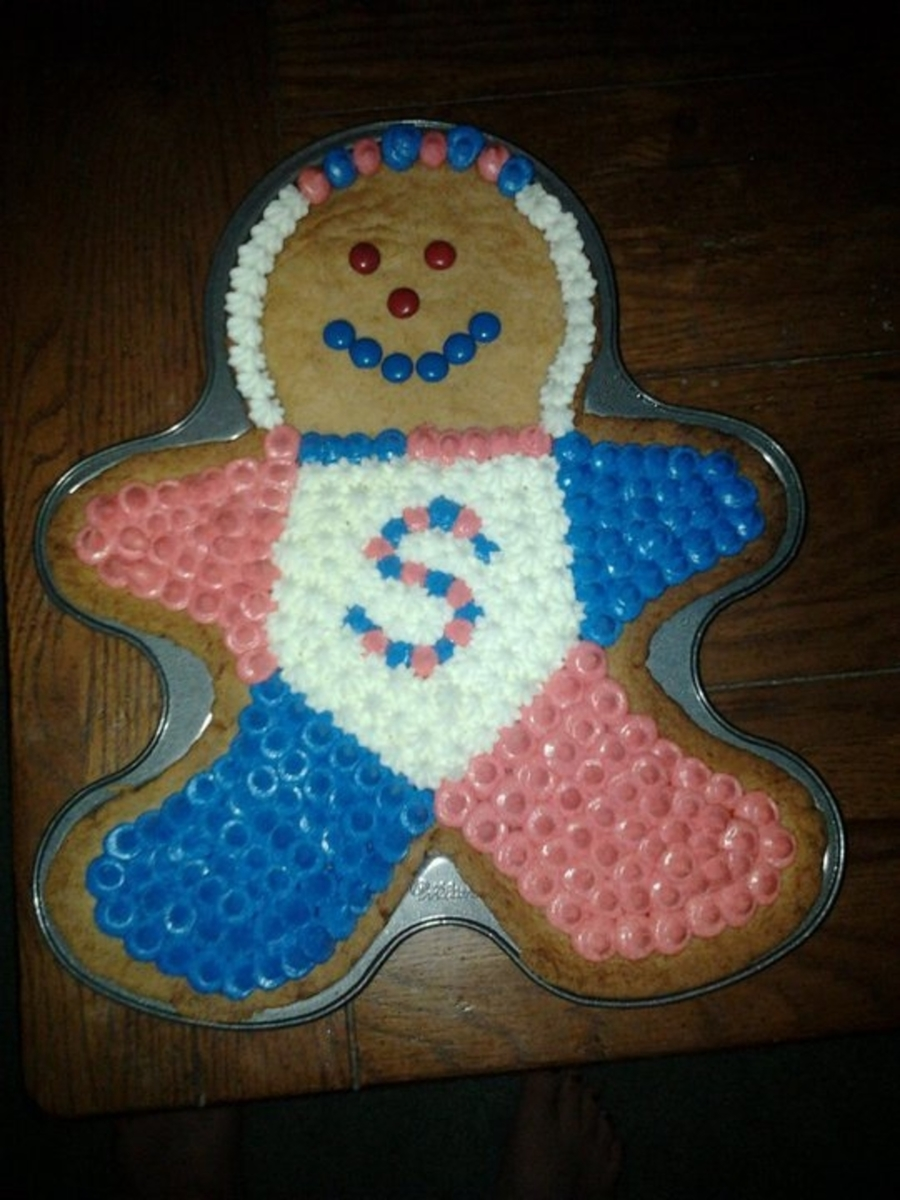 Sugar Cookie Man on Cake Central