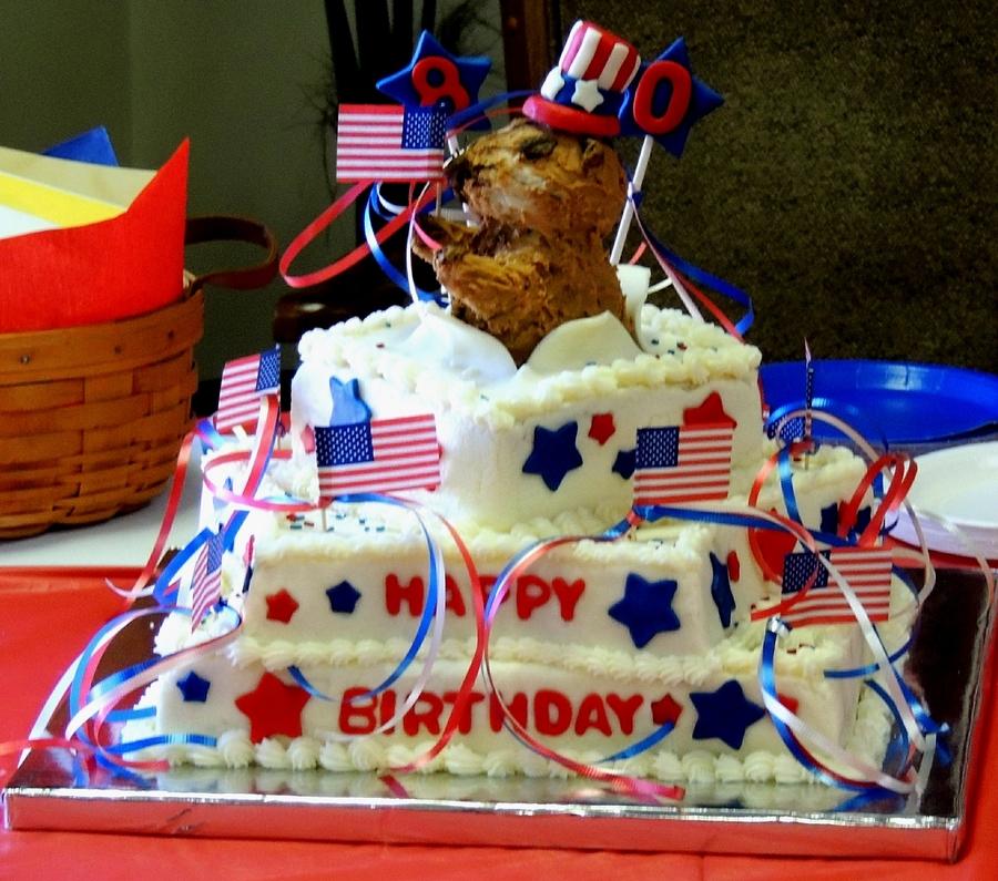Patriotic Birthday Cake Cakecentral Com