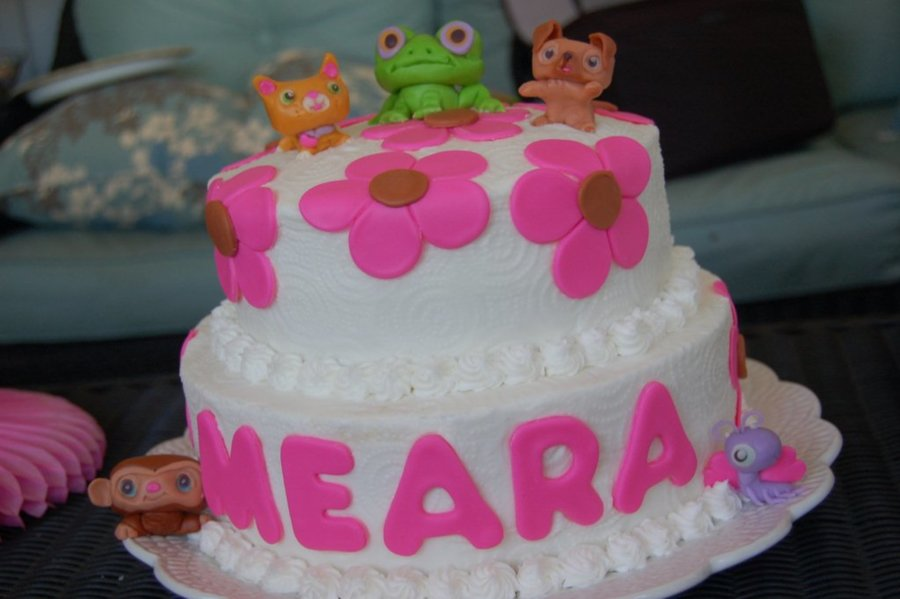 Littlest Pet Birthday Cake on Cake Central