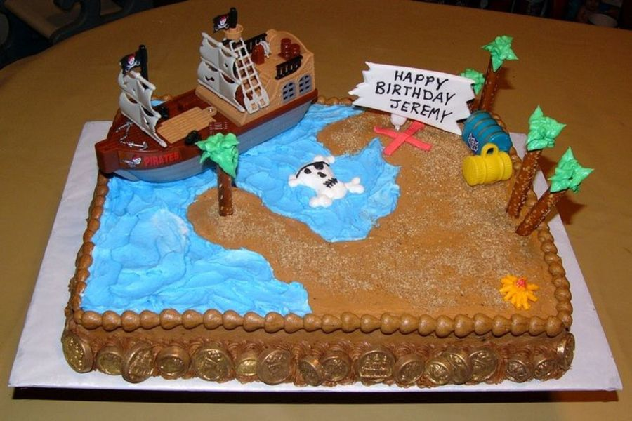 Cake Decorating Treasure Island
