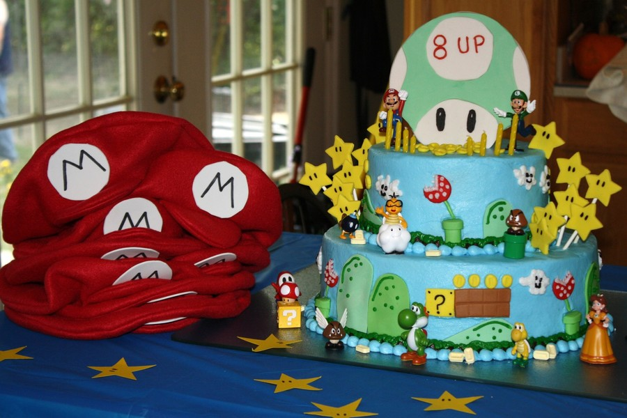 Mario Birthday on Cake Central