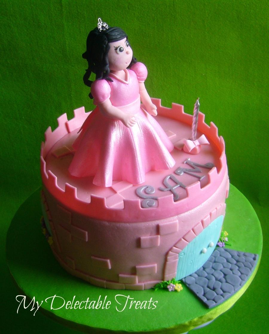 sams pink castle cake cakecentralcom