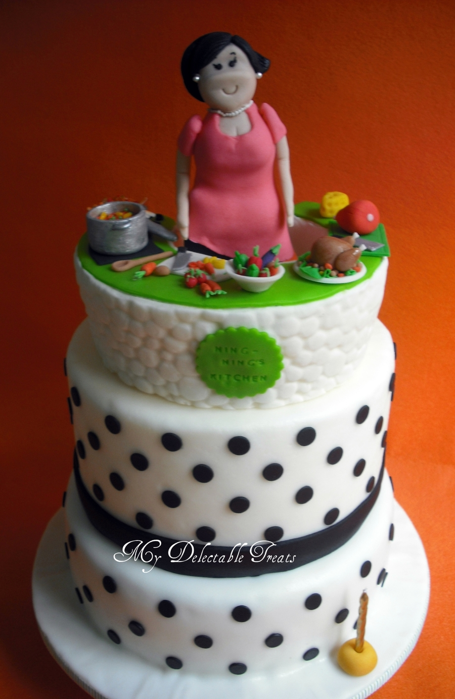 Kitchen Themed Cake And Cupcakes Cakecentral Com