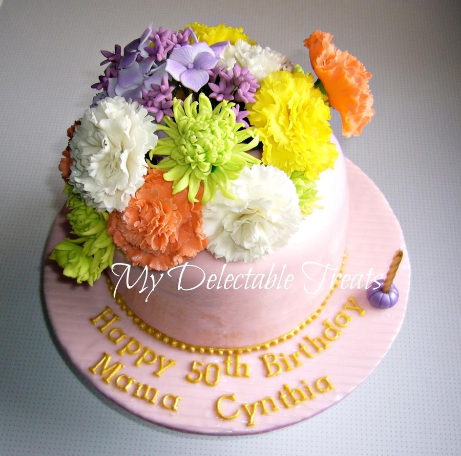 Cynthia S Birthday Cake Cakecentral Com