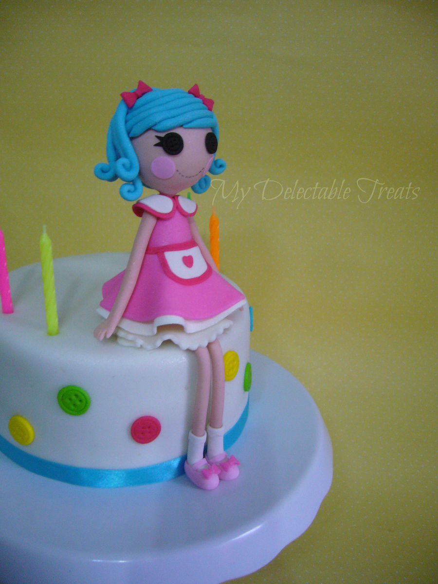 Lalaloopsy Rosy Bumps Birthday Cake on Cake Central