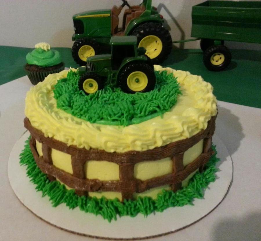 John Deere Birthday Cake Cakecentral Com