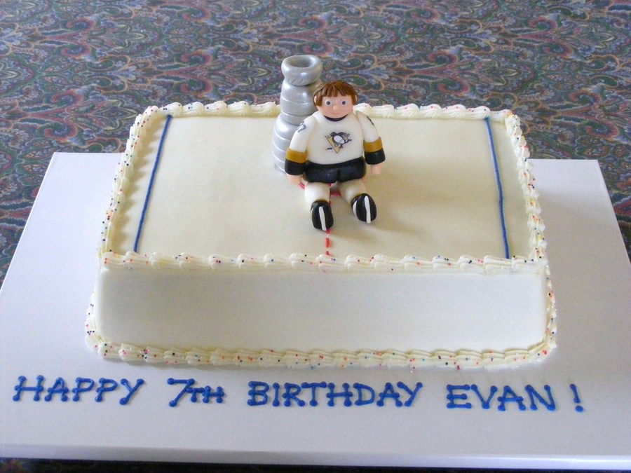 Sidney Crosby/stanley Cup Cake on Cake Central