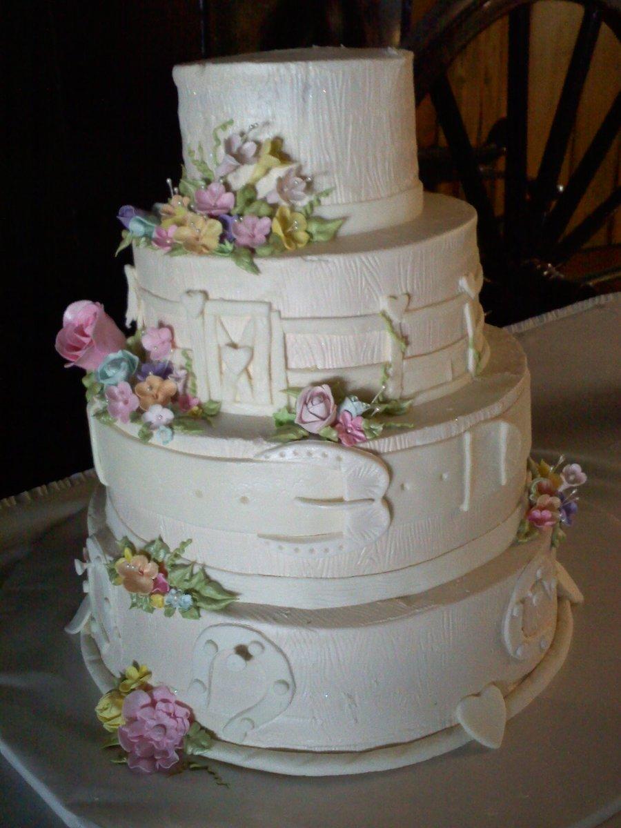 Western Wedding Cake - CakeCentral.com