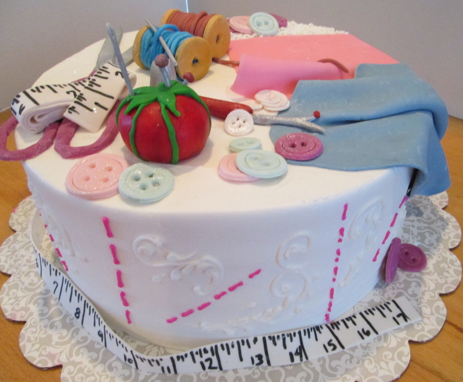Sew Ed on Cake Central