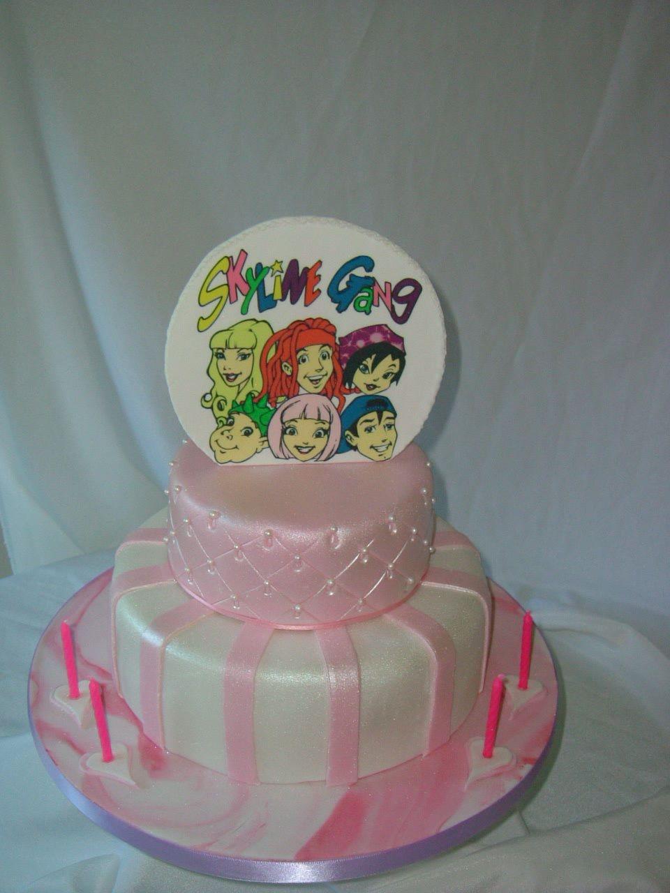 Skyline Gang Cake Cakecentral Com