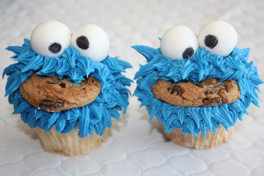 Cookie Monster.... on Cake Central