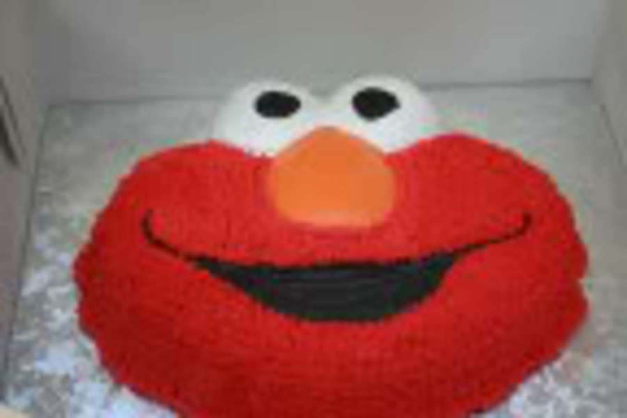 Elmo Face on Cake Central