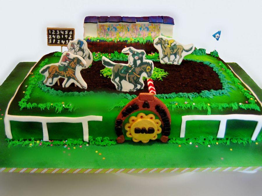 Horse Racing Cake Tutorial