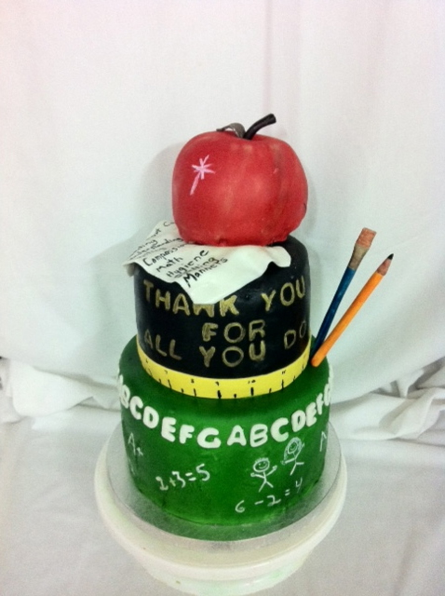 Teacher Appreciation Day  on Cake Central