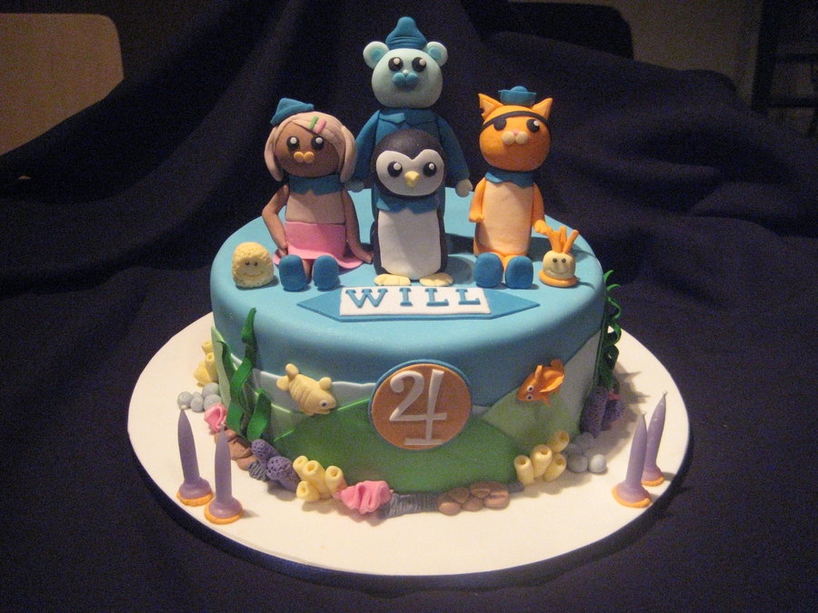 Octonauts on Cake Central