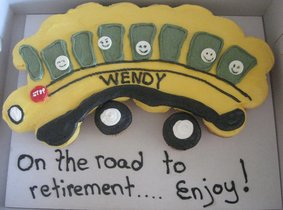 School Bus on Cake Central