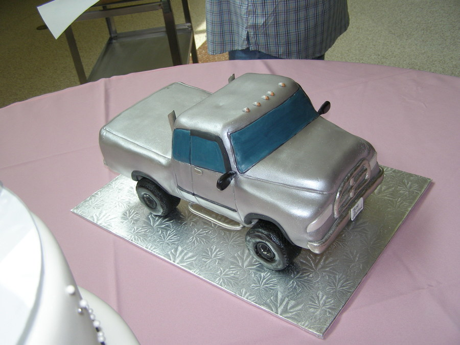 Dodge Grooms Cake on Cake Central