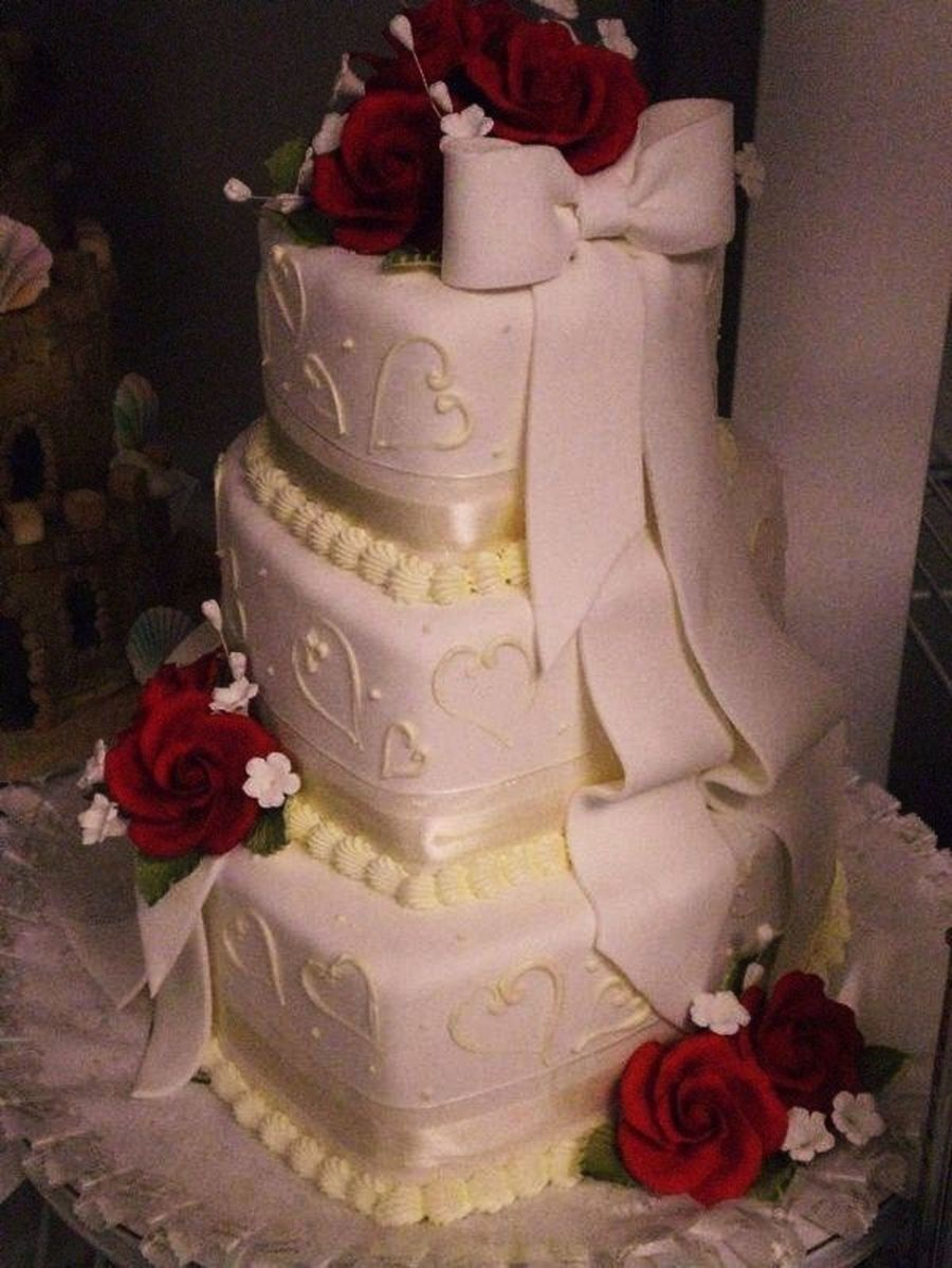 Hearts Of Love on Cake Central