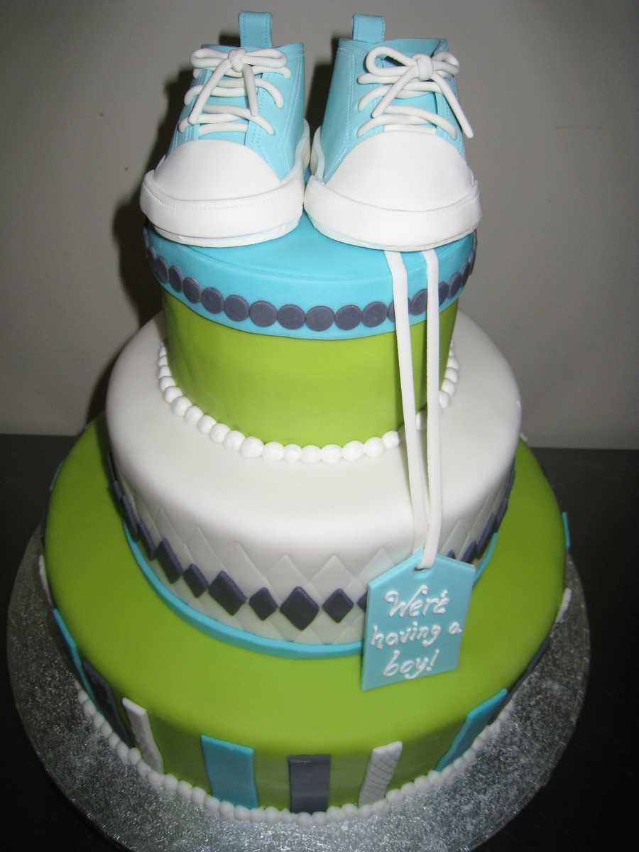 Baby Converse Sneaker Cake on Cake Central