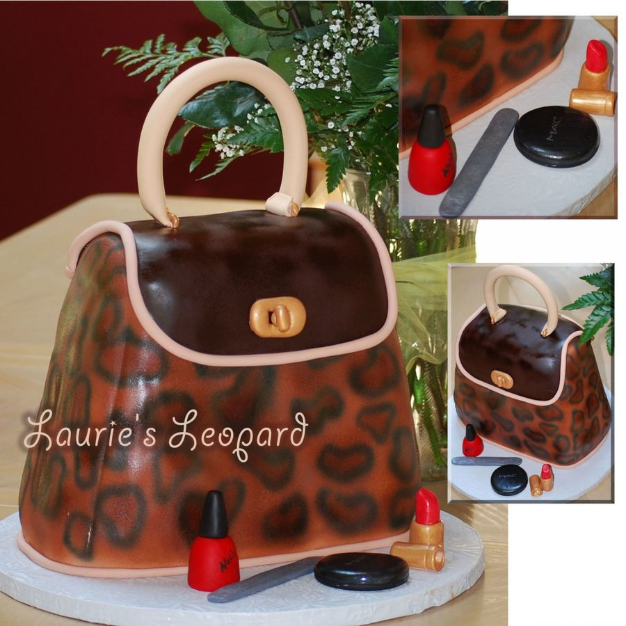 Laurie's Leopard on Cake Central