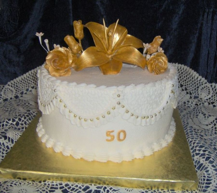 Short Notice 50 Th on Cake Central