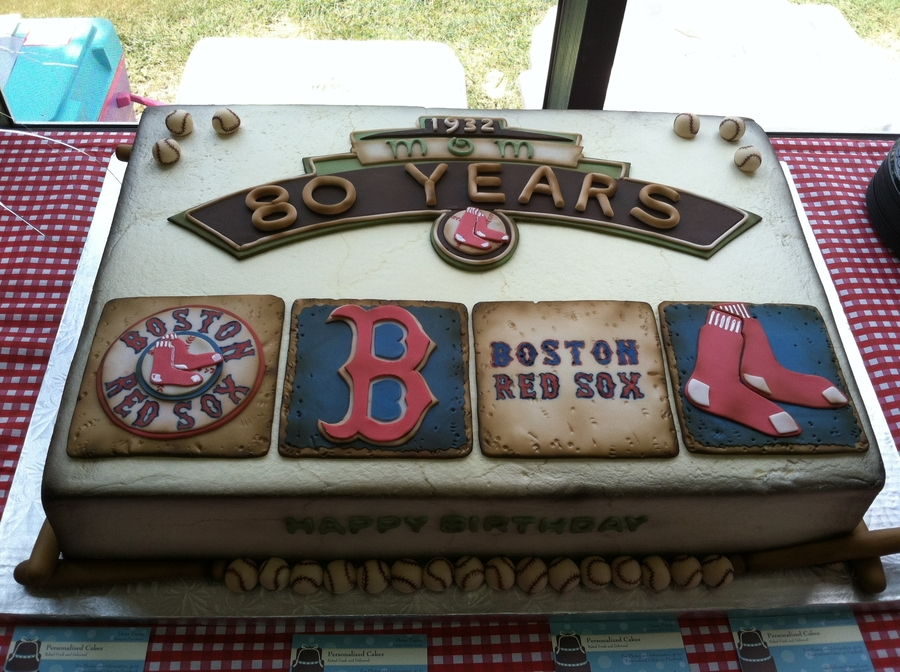 Boston Red Sox  on Cake Central