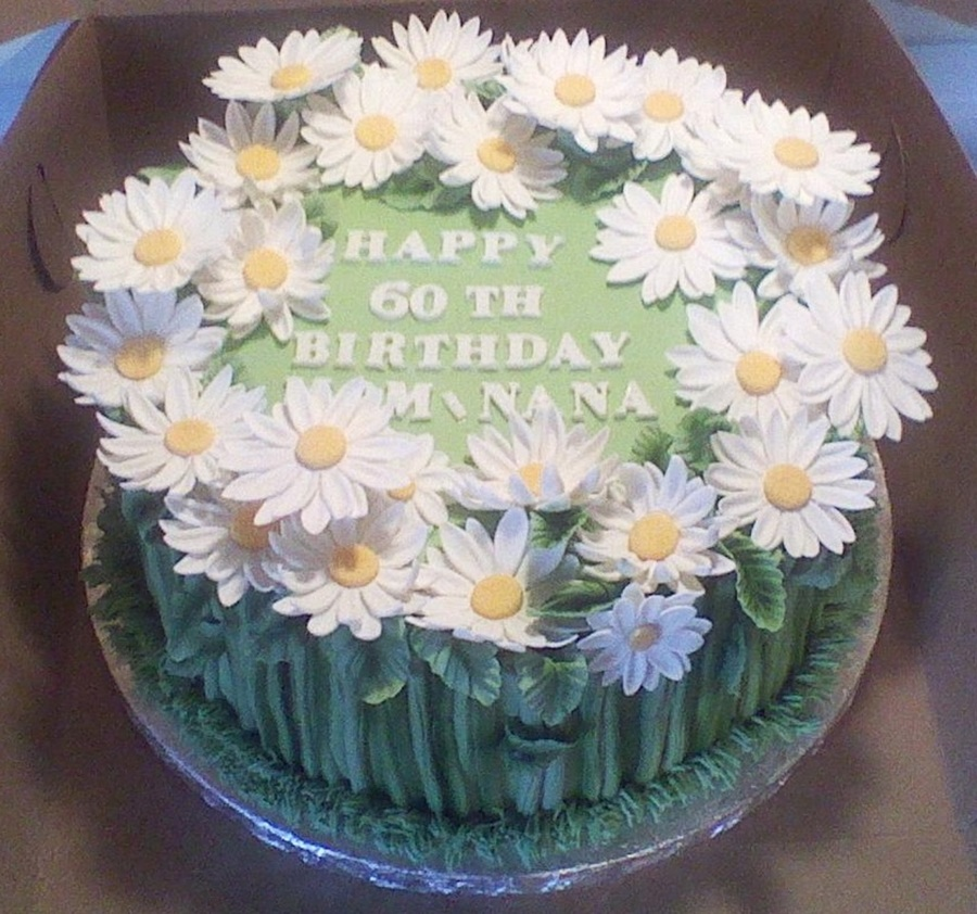 Daisy Patch on Cake Central