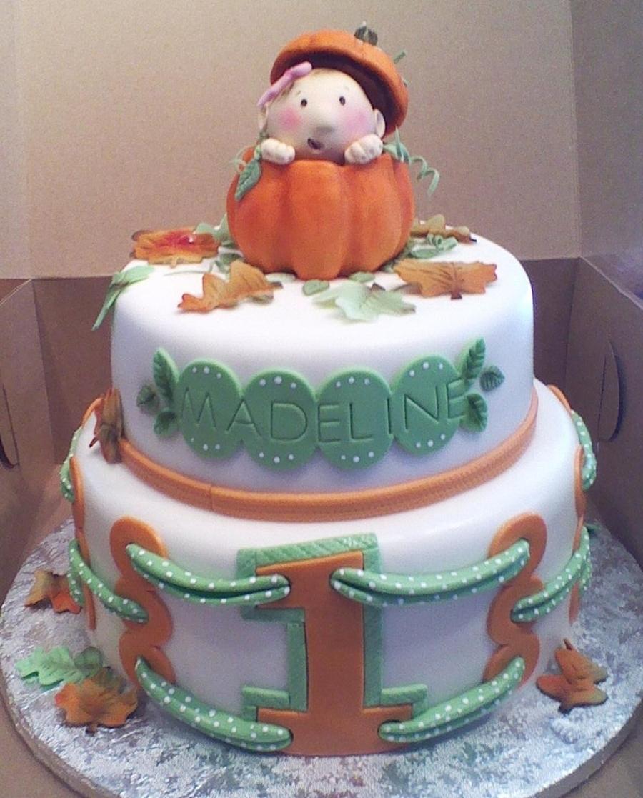 Pumpkin Themed Cake