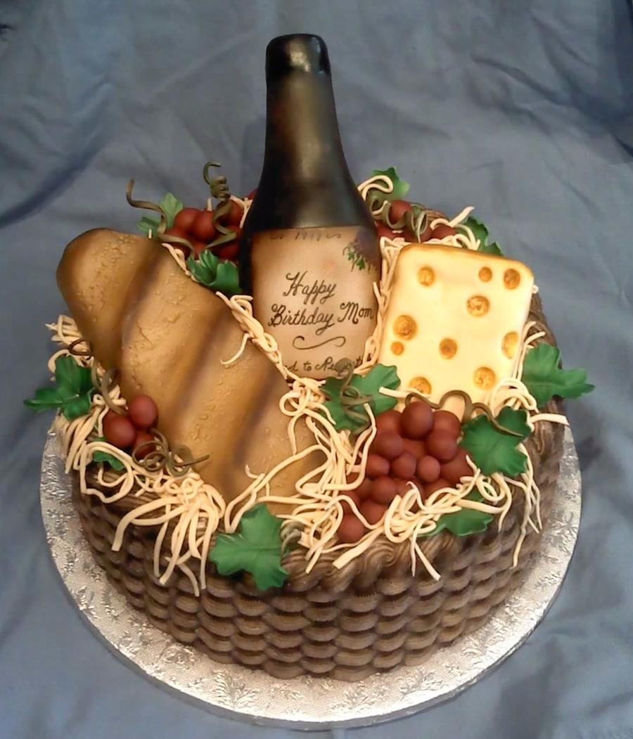 Wine Basket Cakecentral Com