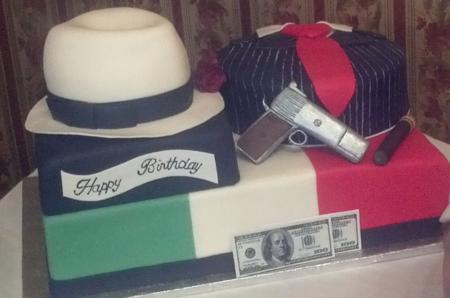 Italian Mobster Birthday Bash  on Cake Central
