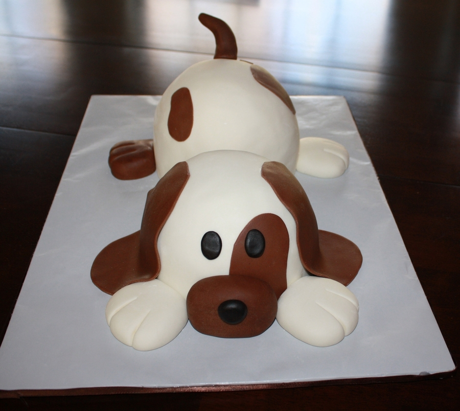 Puppy Dog Cake on Cake Central