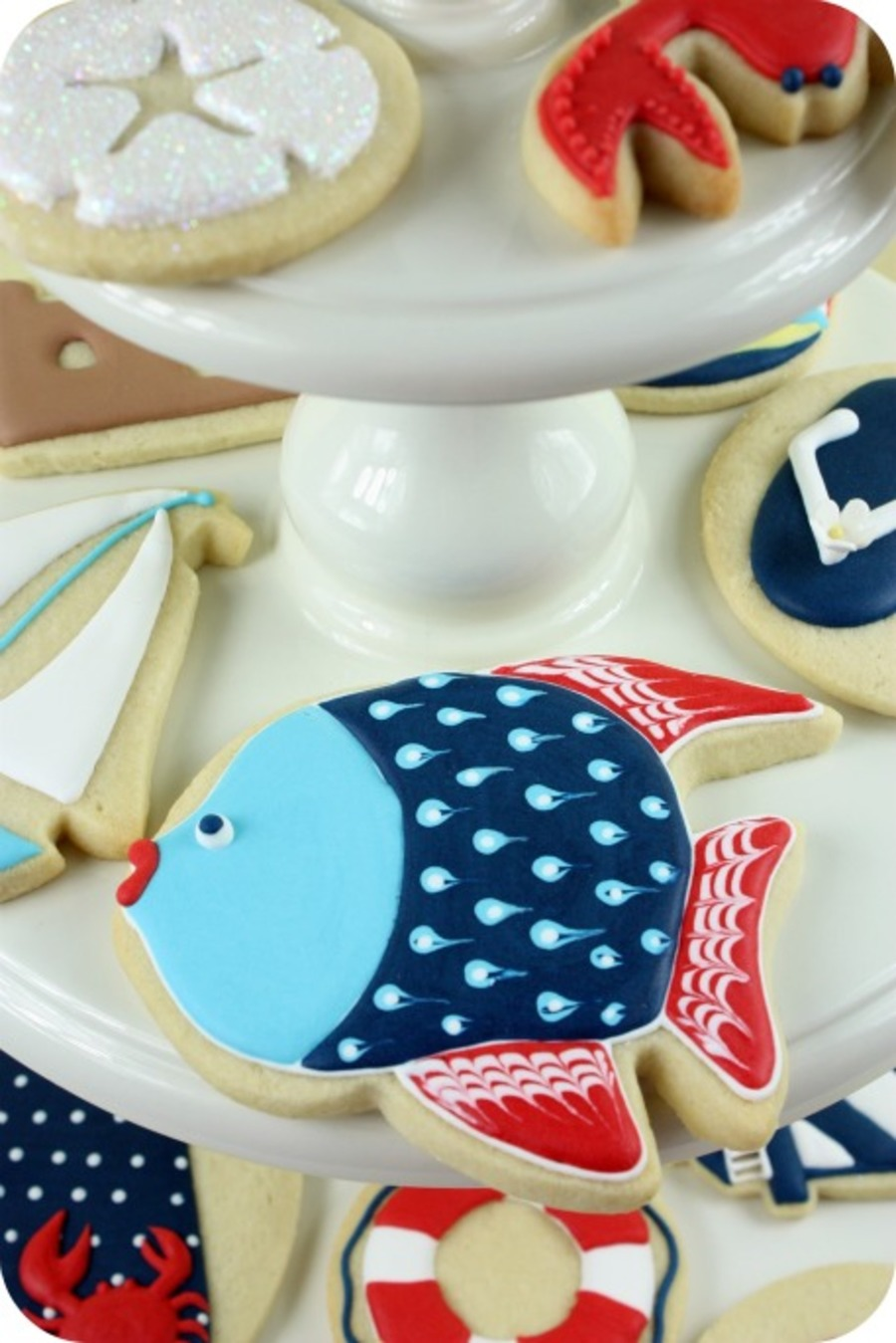 Sea Shore Cookies on Cake Central