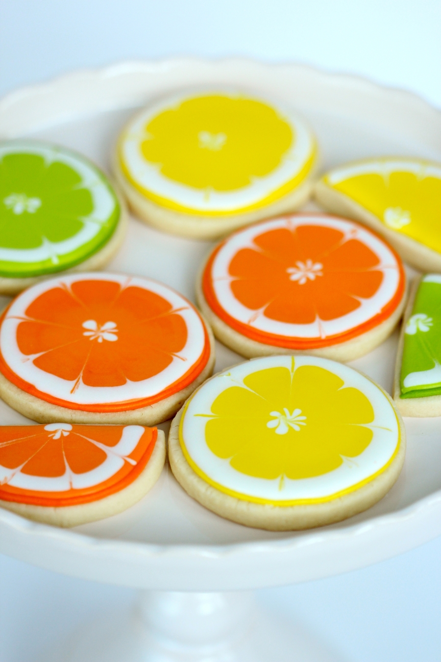 Citrus Decorated Cookies on Cake Central