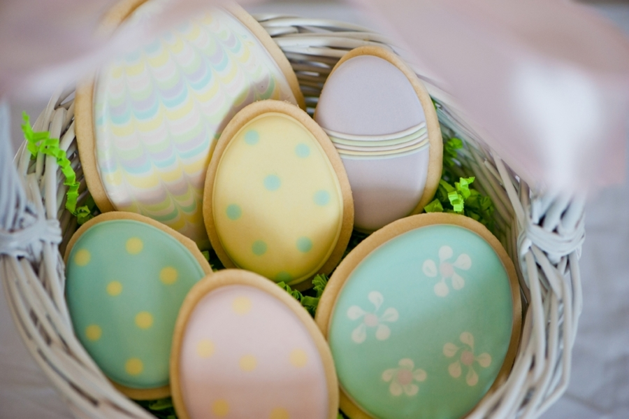 Easter Eggs on Cake Central